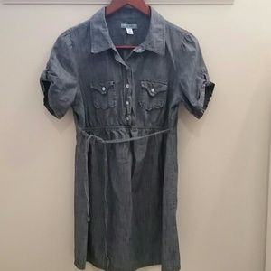 Old Navy - Chambray Short Sleeve Dress Size Medium
